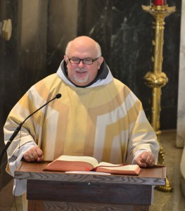 Friar Nicholas Wolfla is a canon lawyer and serves currently as Secretary for the Province. He was ordained to the Diaconate on January 18, 2016.