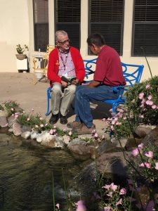 Fr. Chuck Henkle is a chaplain with hospice in Mesilla Valley, New Mexico.
