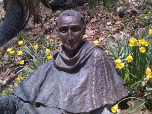 Statue of St. Francis at Mount St. Francis, IN