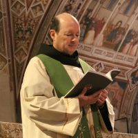 Fr. Jim Kent, OFM Conv., in Assisi, Italy