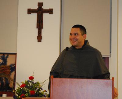 Friar Johnathan Vargas Ramirez from Costa Rica