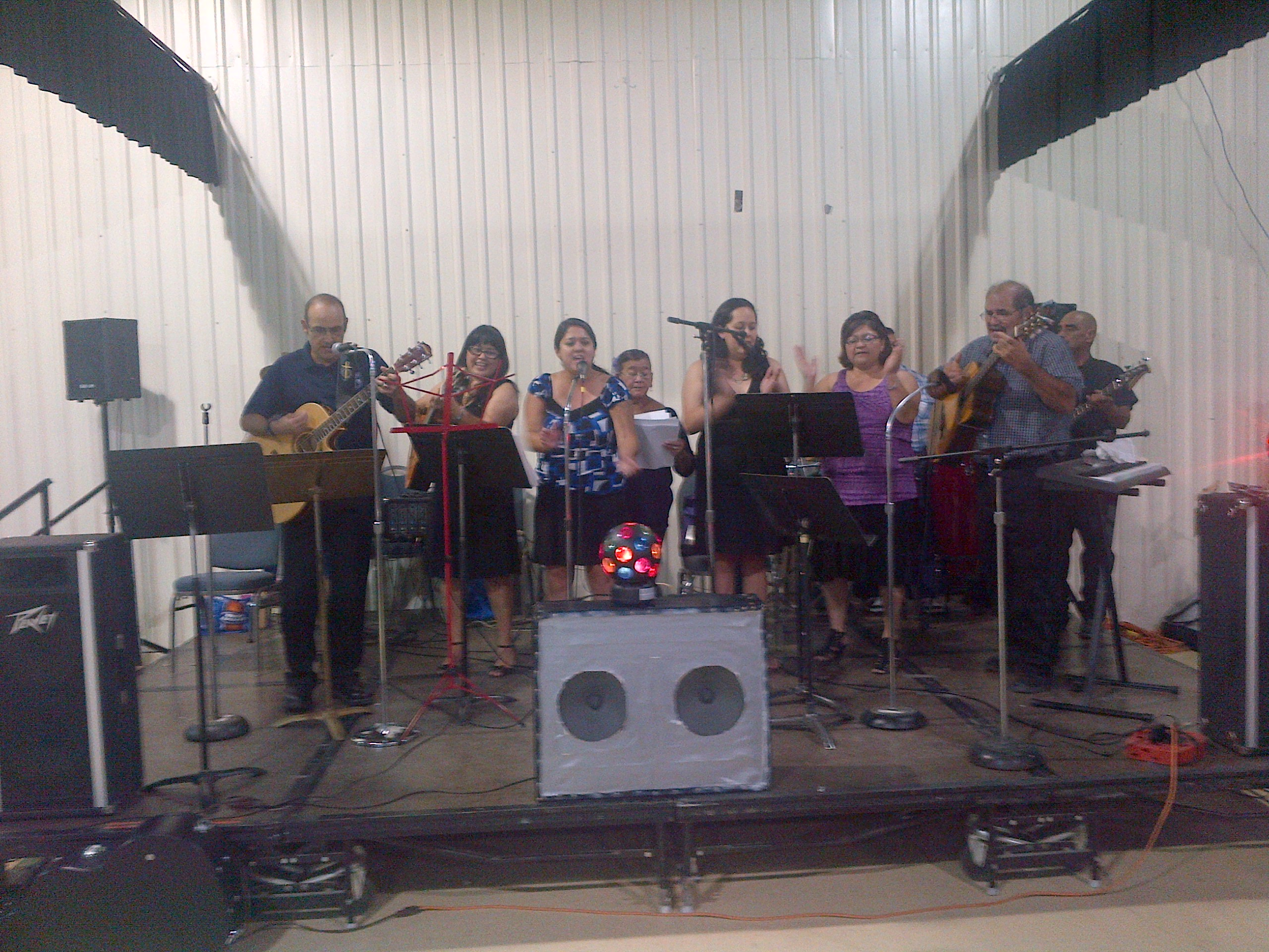 Our Lady of Grace Choir - the Chacon Family