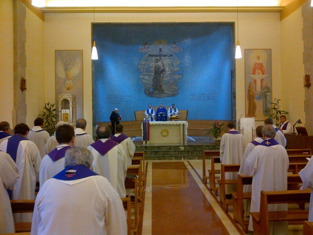 The Friars at Mass
