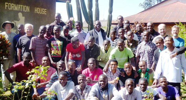 Postulants and aspirants at the Formation House in Zambia