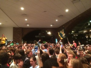 More than 9,000 college students met in Nashville, TN for FOCUS (Fellowship of Catholic University Students.)