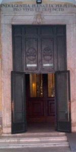 The doors to St. Peter's