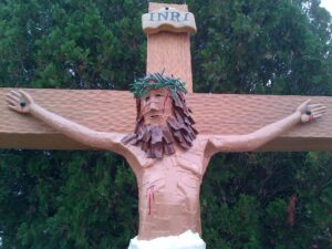 Crucifix at Holy Cross Retreat Center, Mesilla Park, New Mexico