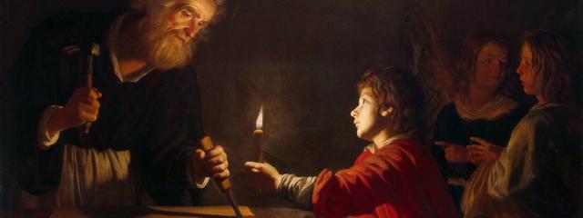 Painting by Gerard Van Honthorst (1592-1696)