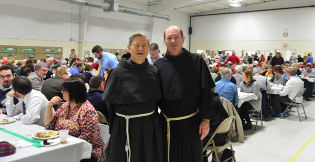 Fr. Christian Moore and Fr. Jim Kent