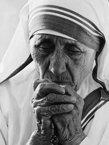 Mother Teresa (1910-1997) was canonized in 2016.